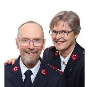 Colonels Jostein and Magna Våje Nielsen