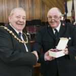 provost-william-hendrie-with-major-dean-logan_44167920770_o