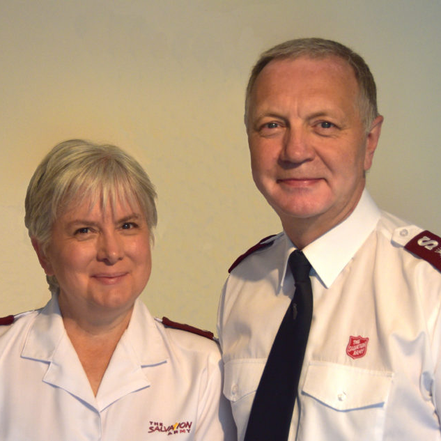 Lieutenant-Colonels Richard and Ann Borrett